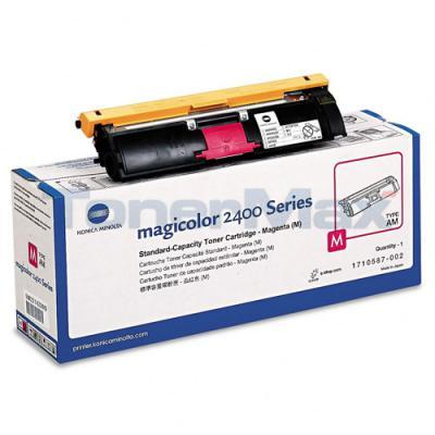 QMS MAGICOLOR 2400W 2430DL TONER CARTRIDGE MAGENTA